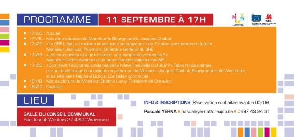 Conférence Créajob - Economie locale et territoire - Quels défis pour le futur 1